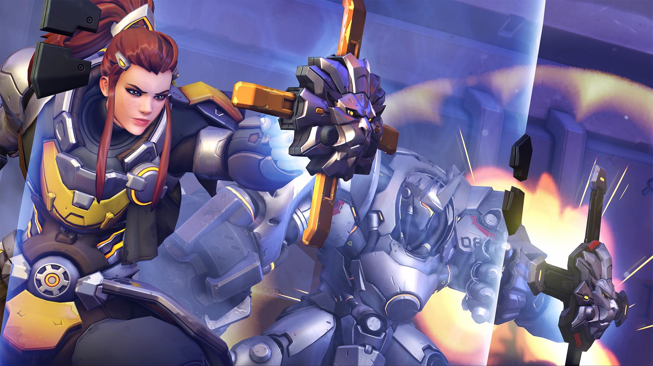 源氏狂喜 布里吉塔盾击技能将《守望先锋2》中被移除插图1