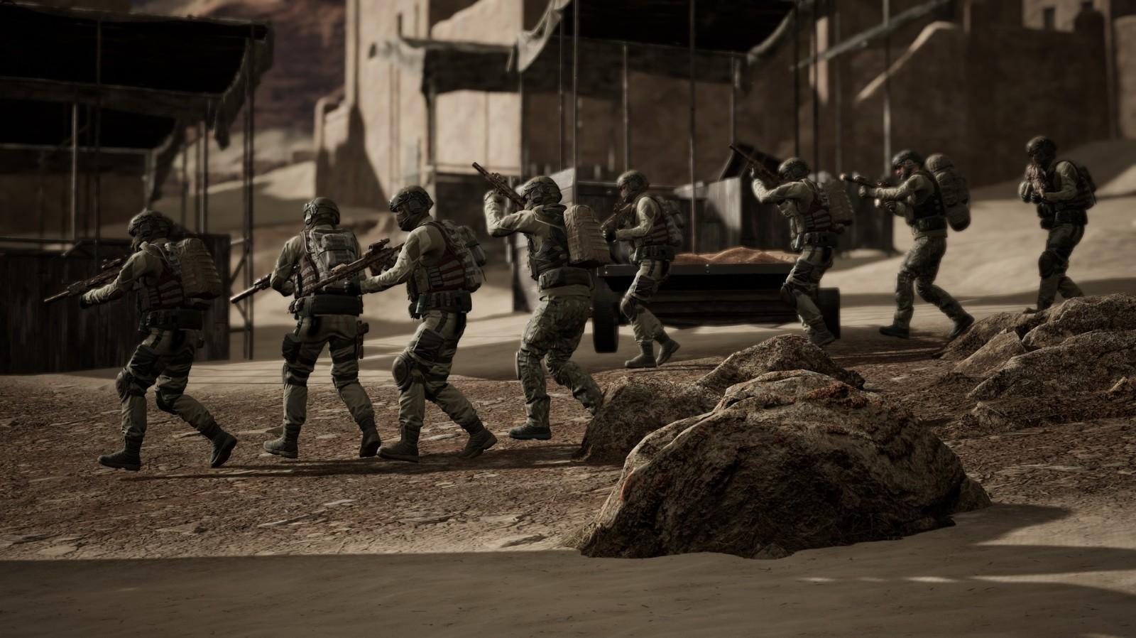单人沙盒战术射击游戏《黑色一号:血盟兄弟》公布插图11