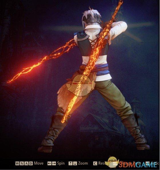 《破晓传说》奥尔芬的火焰剑MOD