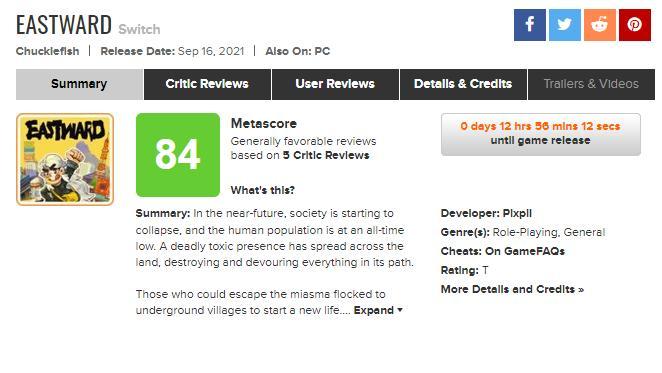《风来之国》MC均分85 两家媒体给出满分评价插图9