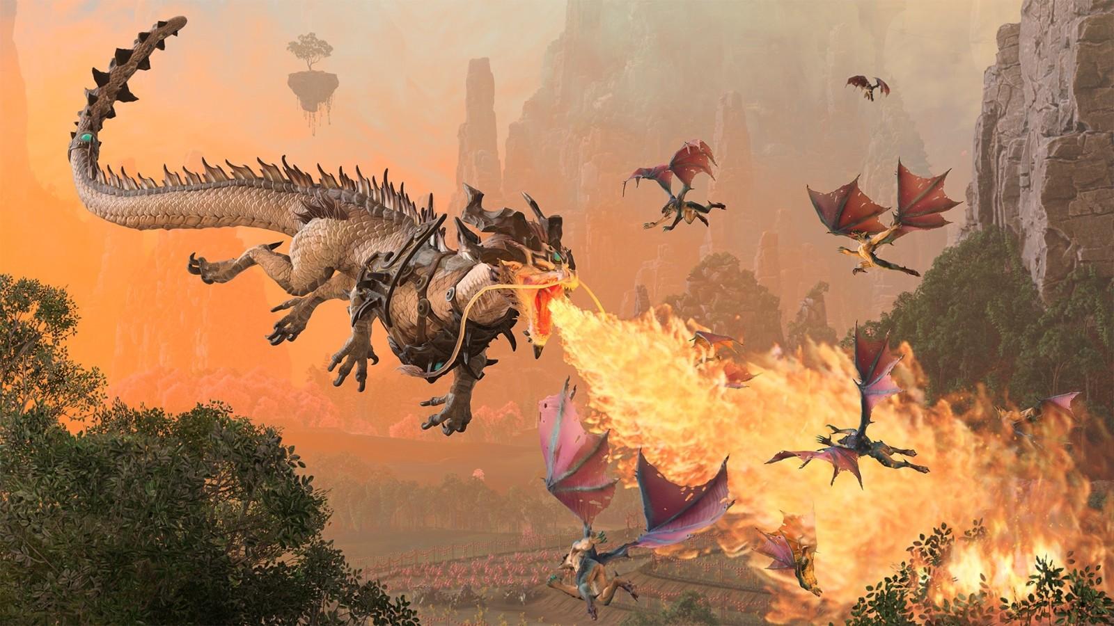 《全面战争:战锤3》新情报 双龙现身兵俑亮相插图3