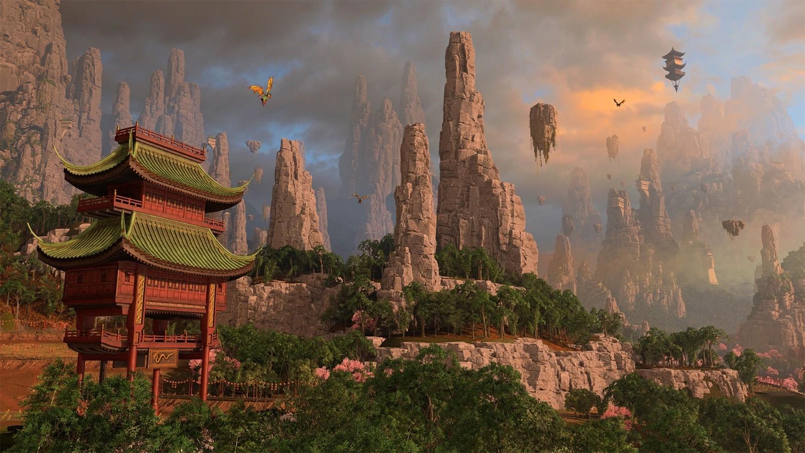 《全面战争:战锤3》新情报 双龙现身兵俑亮相