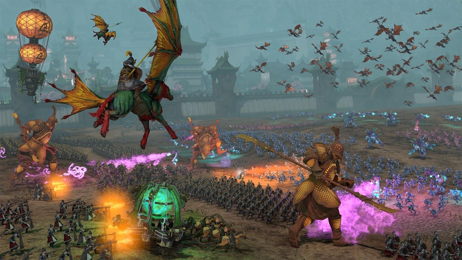 《全面战争:战锤3》新情报 双龙现身兵俑亮相插图5