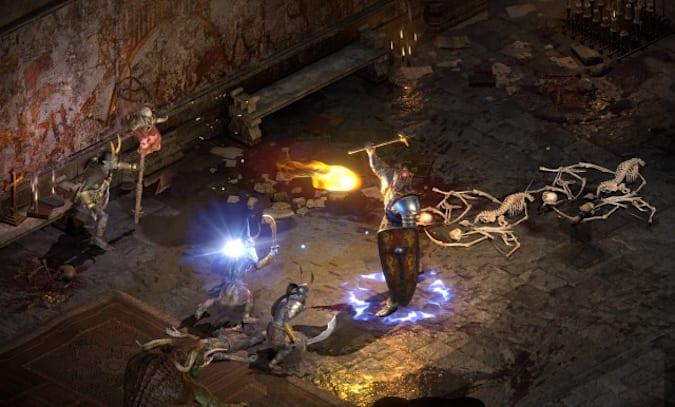 《暗黑破坏神2:重制版》首登主机所遇挑战 与PC操作不同