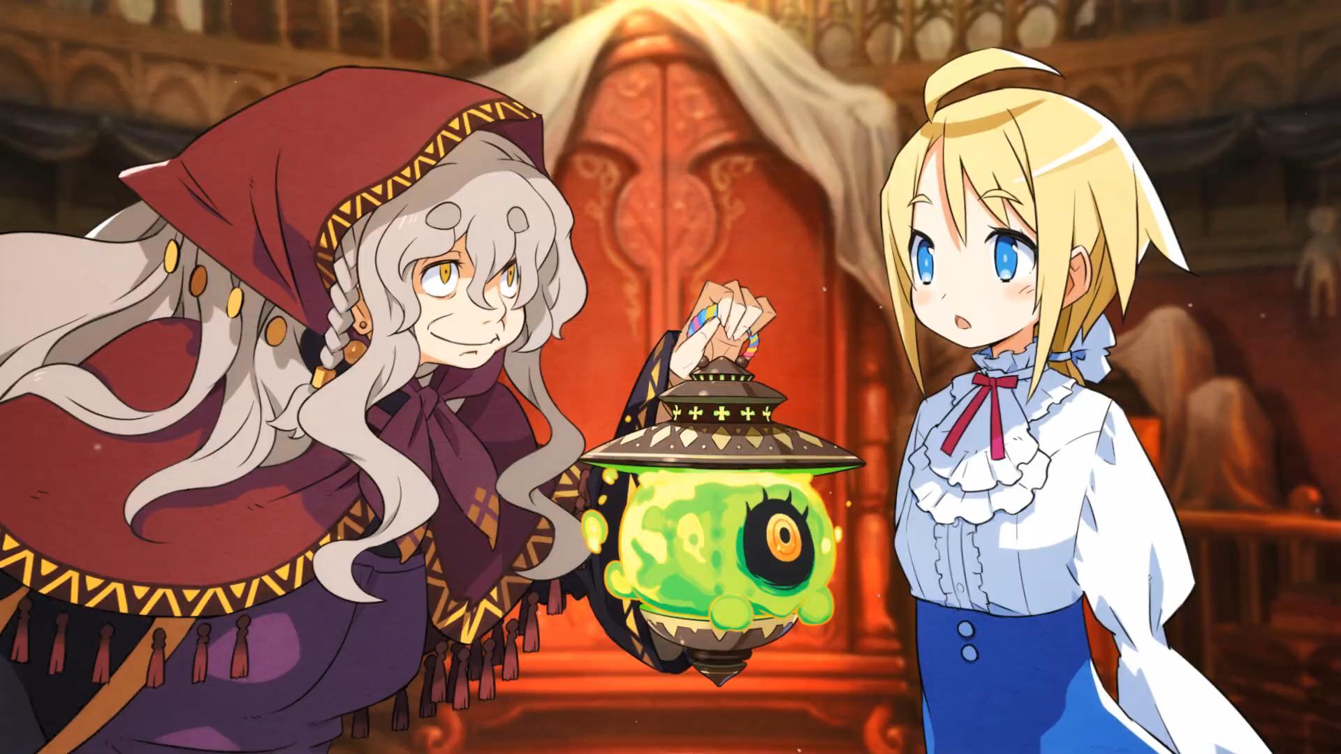 日本一《加雷利亚的地下迷宫与魔女的旅团》NS版预告PV 11月11日发售插图3