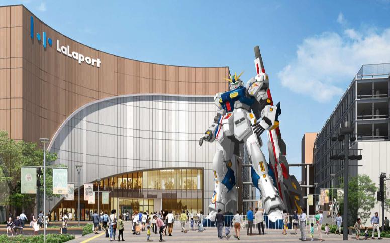 进击的高达再袭来 福冈2022年春将矗立全新实物大ν高达插图1