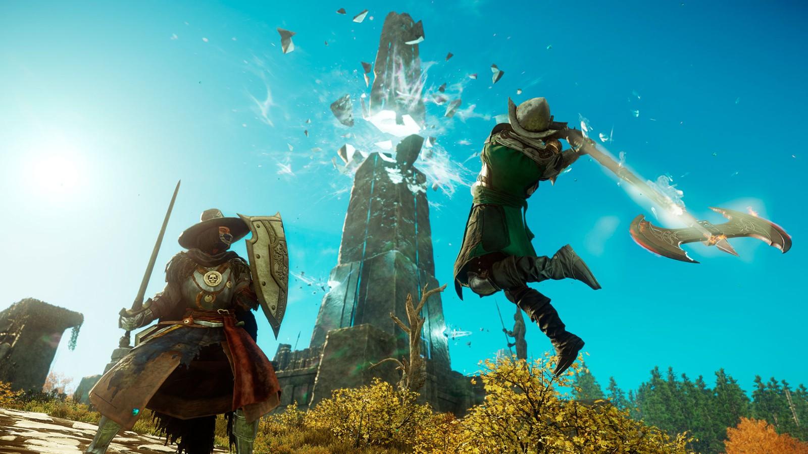 MMORPG《新世界》是否应该有坐骑?国外网友吵翻了插图1