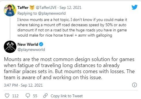 MMORPG《新世界》是否应该有坐骑?国外网友吵翻了插图5