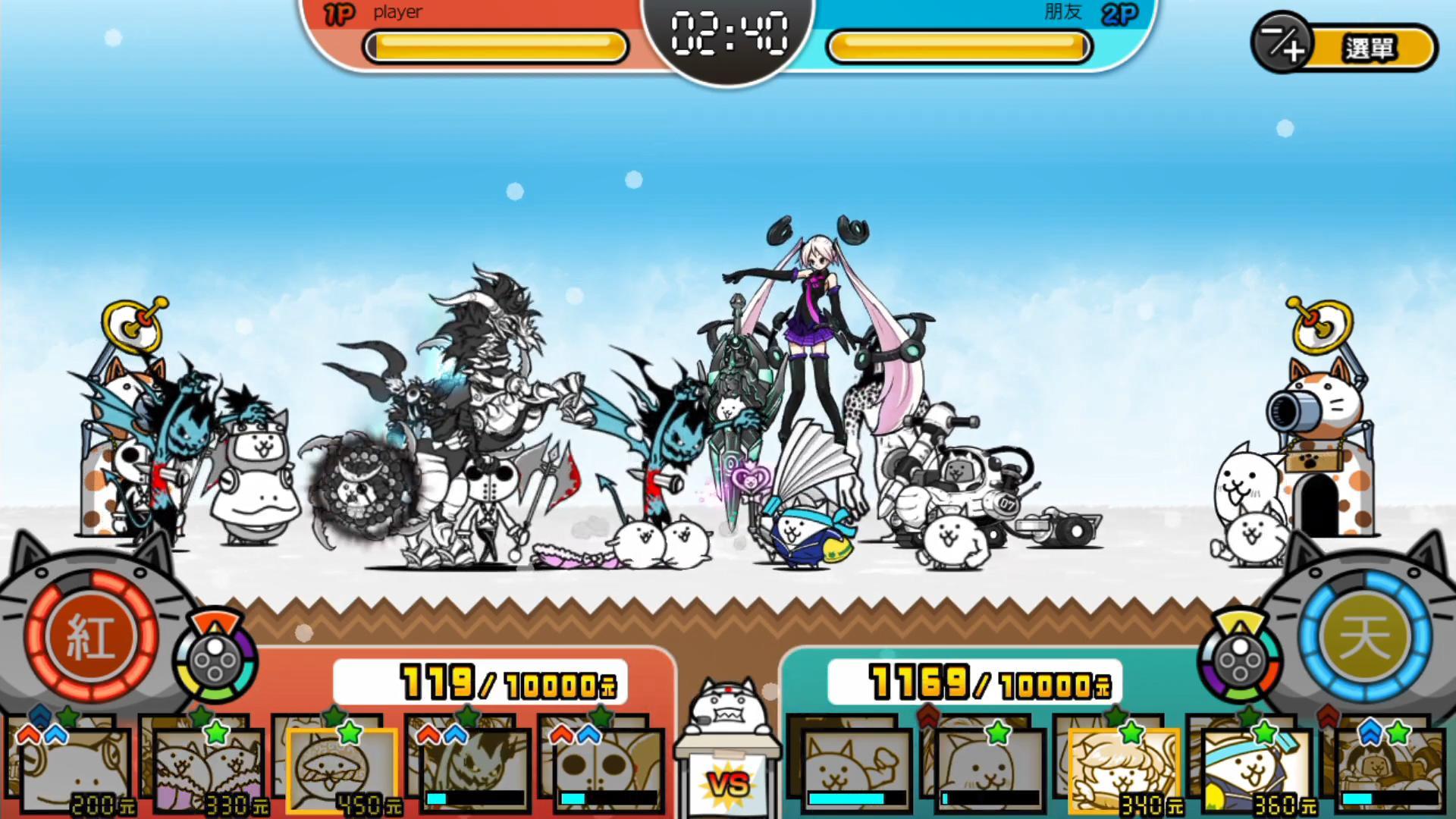 《两人一起!猫咪大战争》多模式实机演示 12月9日发售插图3