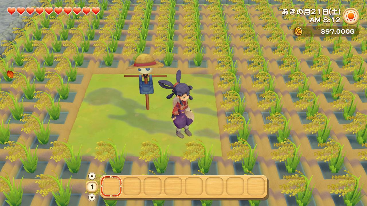 《牧场物语 橄榄镇与希望的大地》联动《天穗之咲稻姬》DLC已限时免费发布插图3
