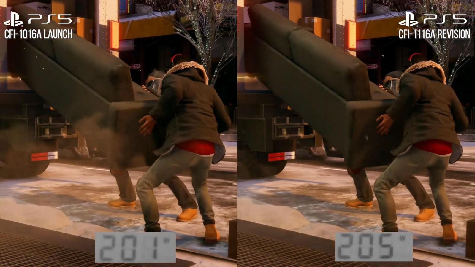 外媒评测PS5新机型:和首发版性能并无二致插图7