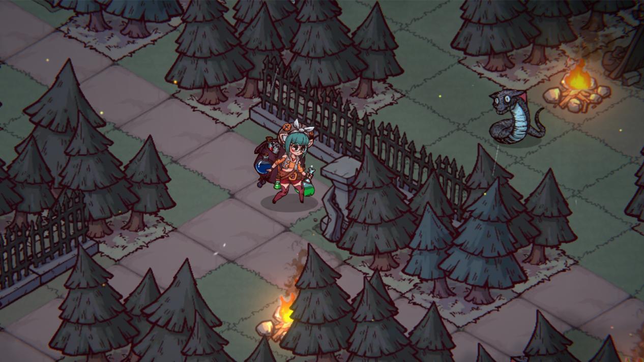 克系肉鸽SRPG《混沌小队》Steam页面上线 现已开启众筹插图3