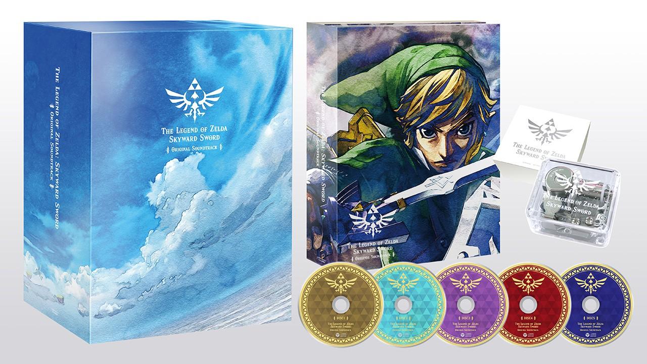 任天堂发布《塞尔达传说:御天之剑》OST 11月23日发售插图3