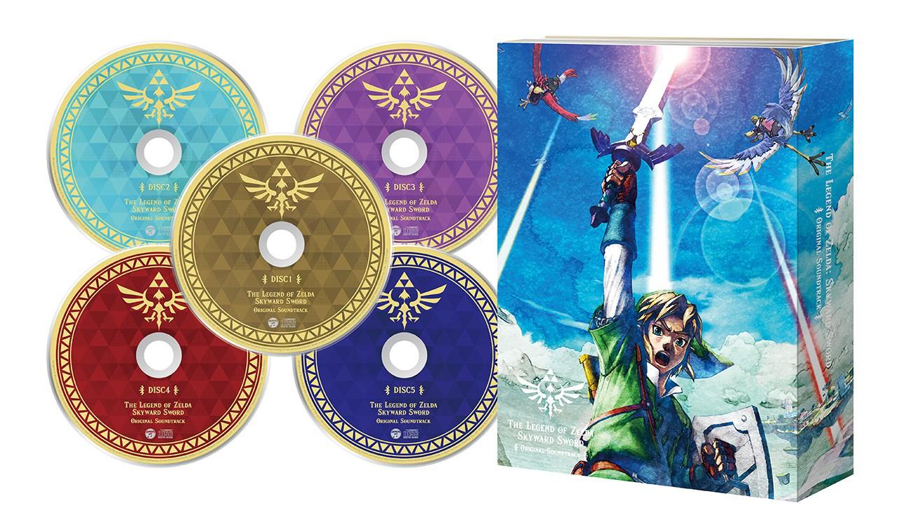 任天堂发布《塞尔达传说:御天之剑》OST 11月23日发售插图7