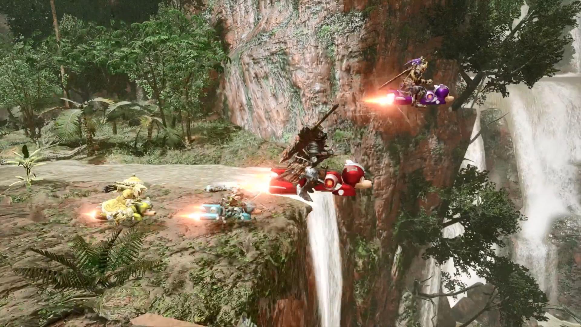 """《怪物猎人:崛起》卡普空联动第4弹公布 洛克人""""莱西""""牙猎犬外观"""