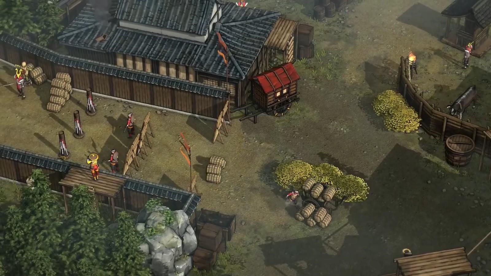 高能电玩节:《影子战术:将军之刃》新DLC宣传片插图11