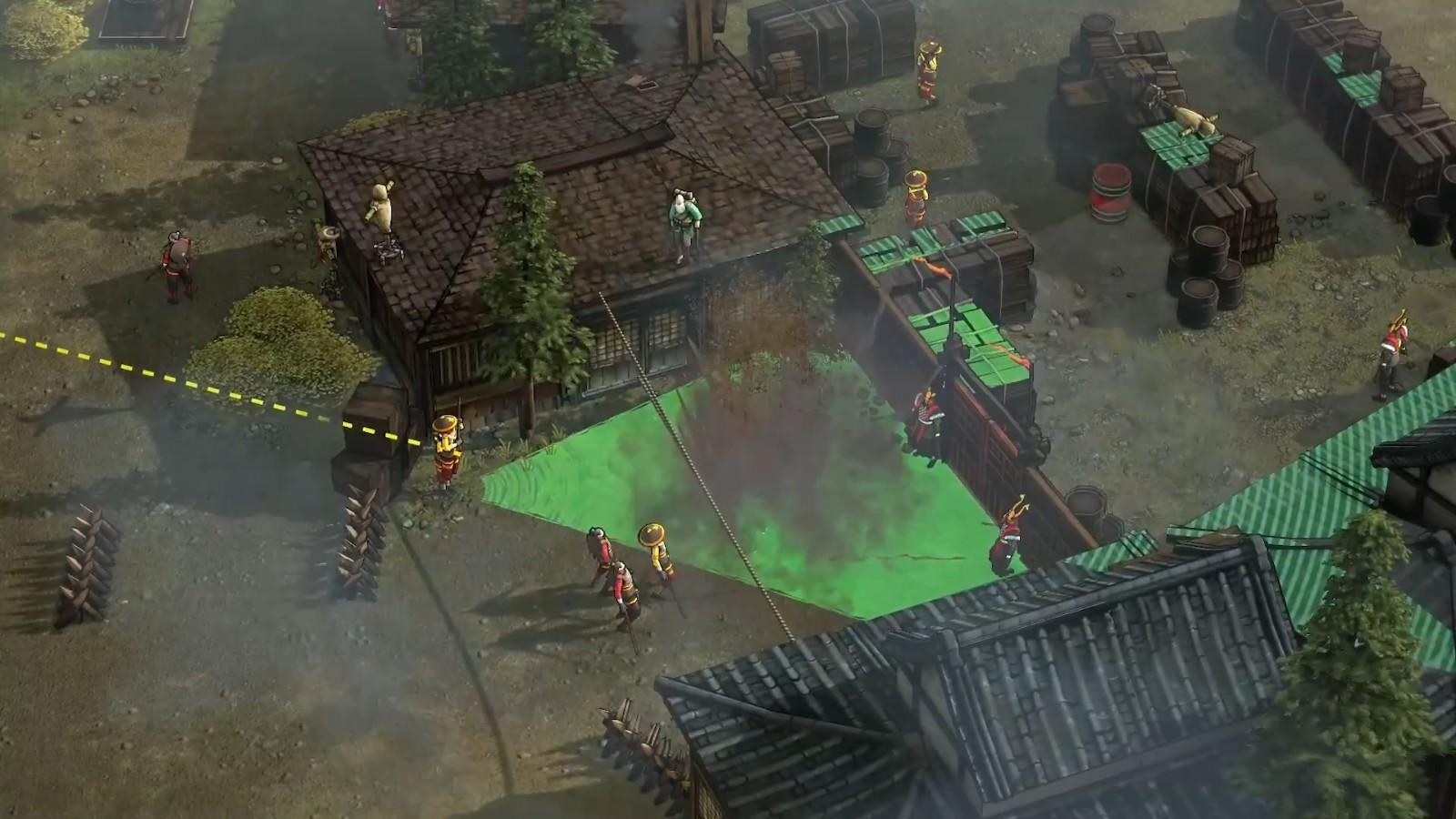高能电玩节:《影子战术:将军之刃》新DLC宣传片插图9