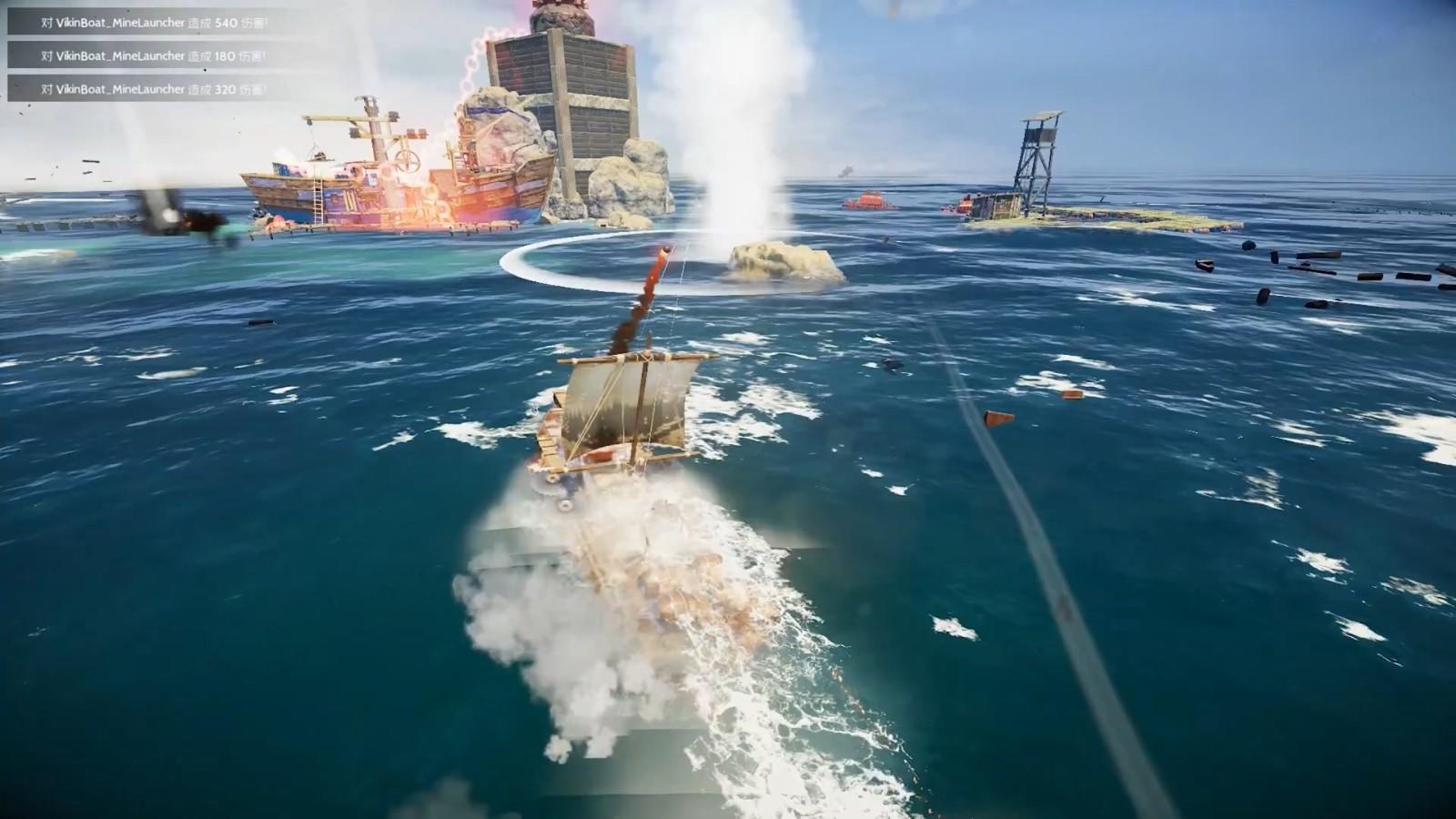 高能电玩节:《沉浮》游戏玩法宣传片插图9