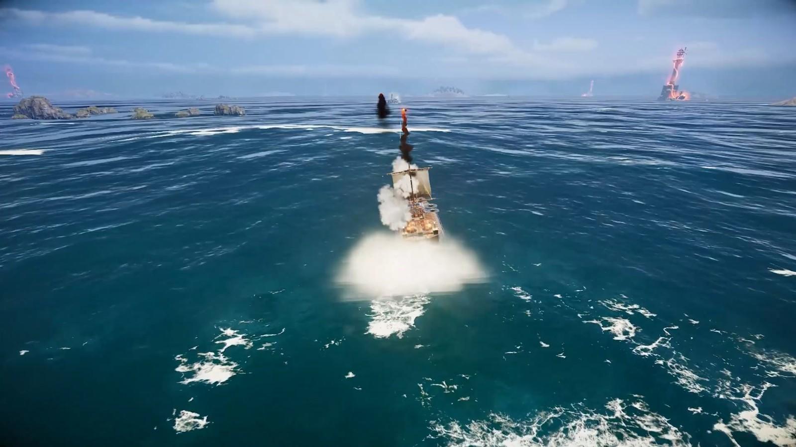 高能电玩节:《沉浮》游戏玩法宣传片插图15