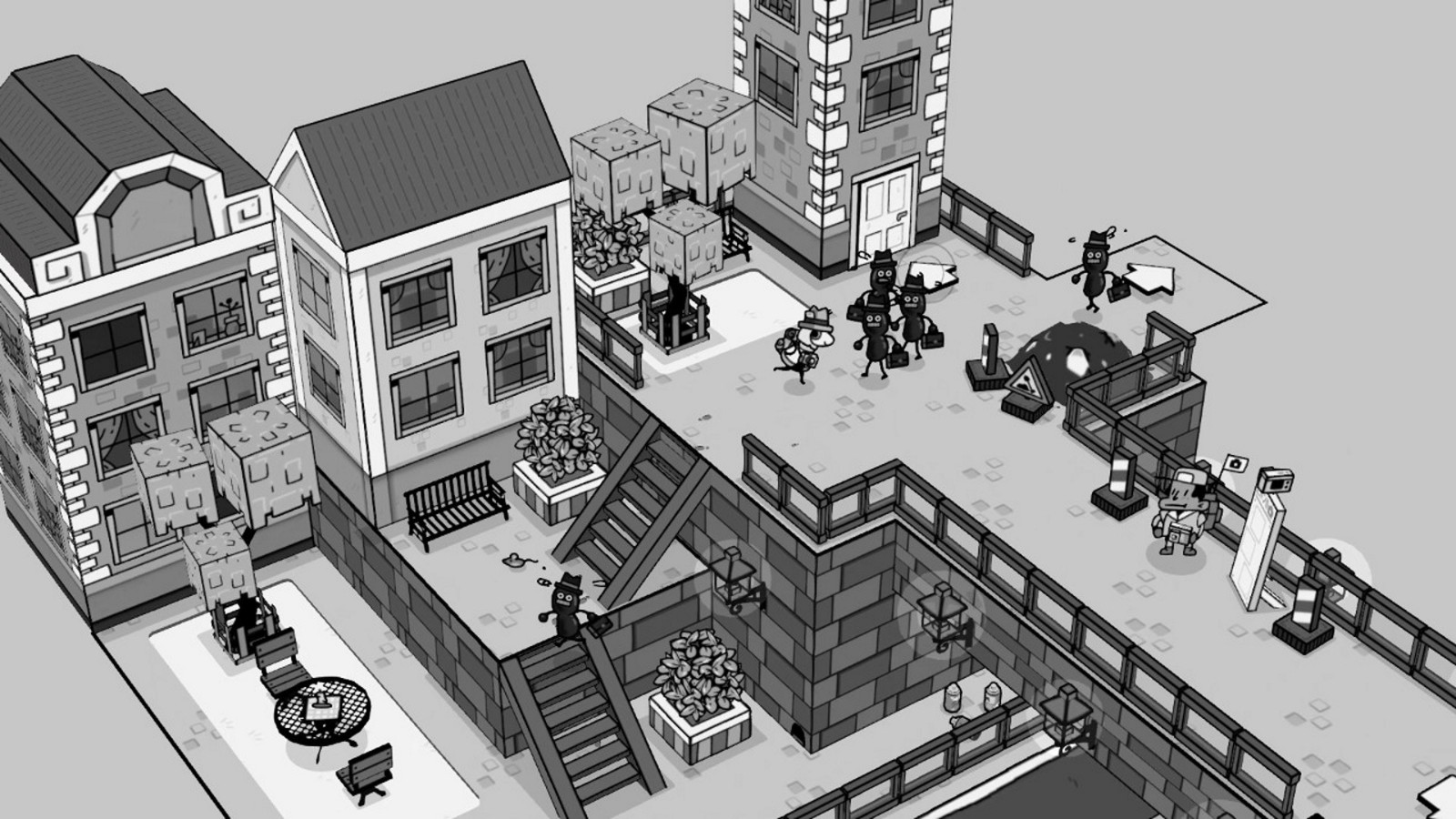 黑白手绘风《TOEM》今日发售 首发特惠促销插图9