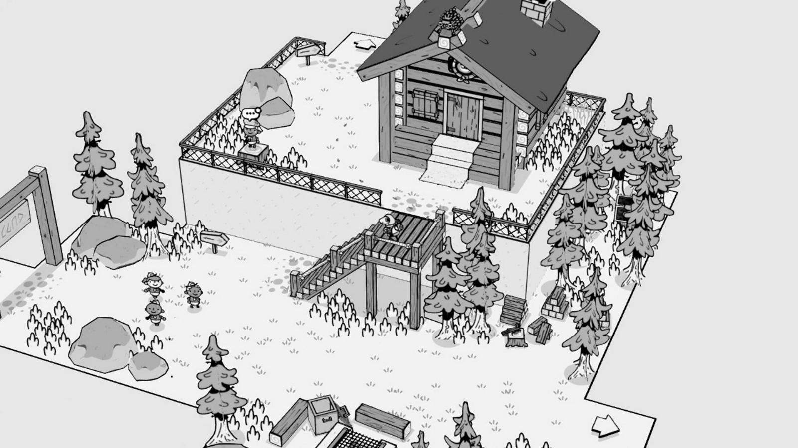 黑白手绘风《TOEM》今日发售 首发特惠促销插图1