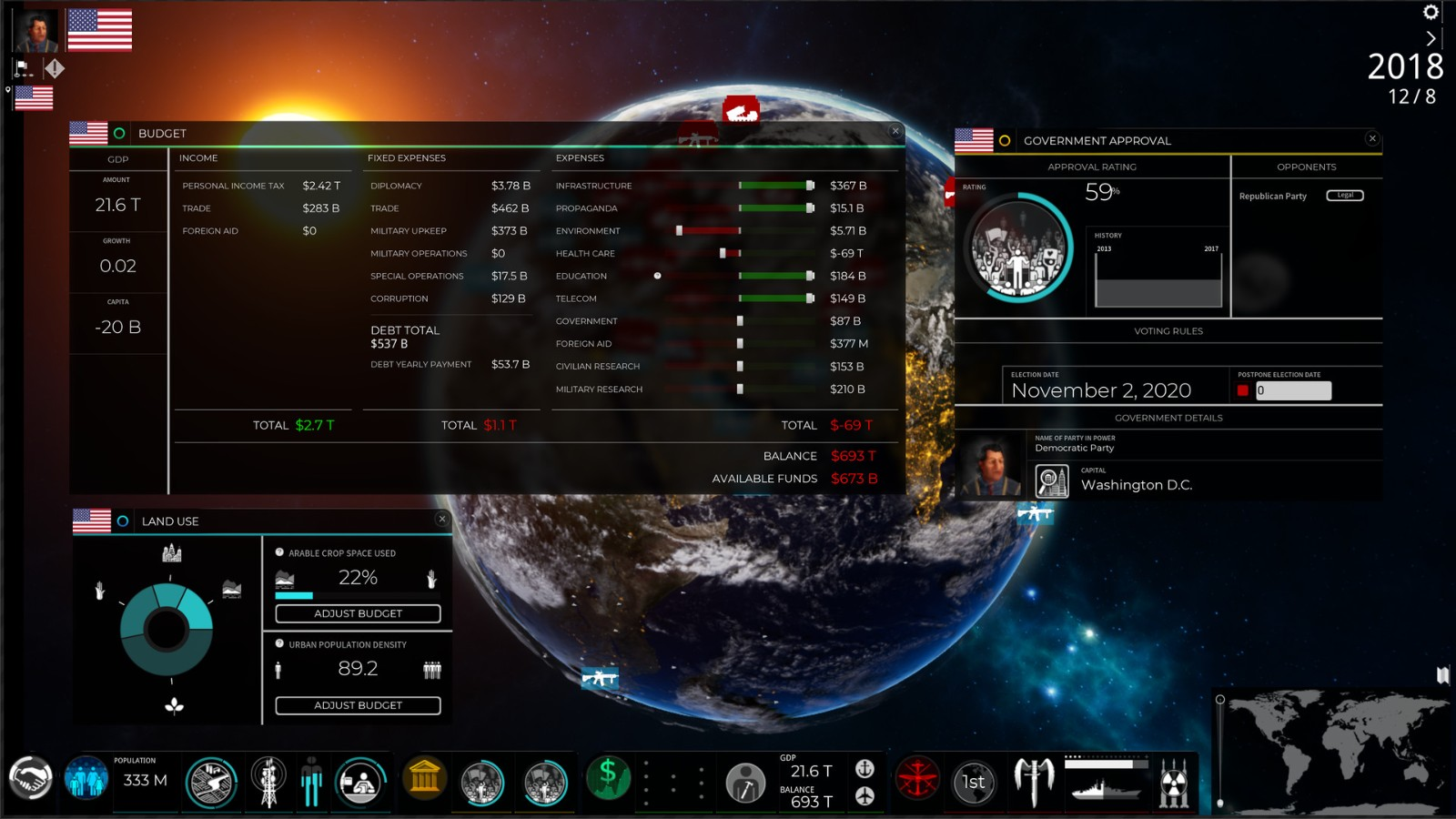THQ公布策略模拟游戏《超级力量3》将登陆Steam
