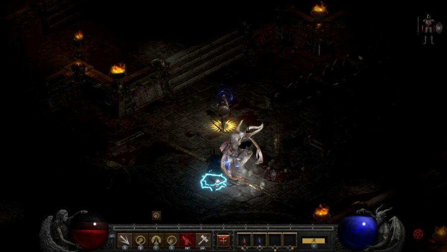 《暗黑破坏神2:重制版》NS版截图 画面效果还不错