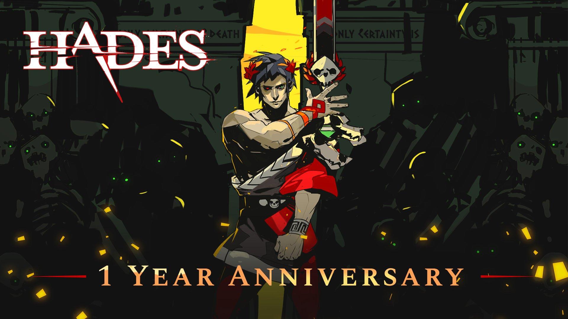 《哈迪斯》发售1周年官方贺图 男主粘土人手办即将发售