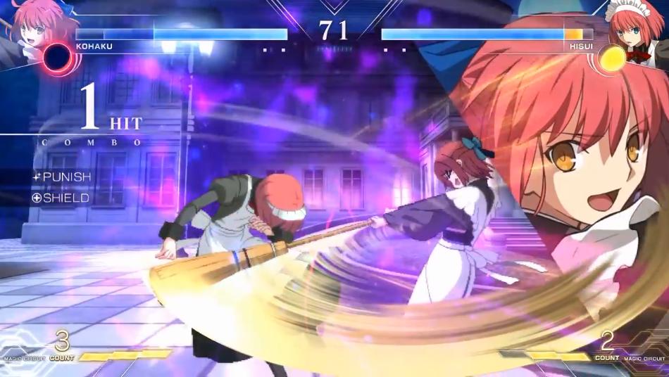 新月姬格斗《Type Lumina》对战演示 翡翠vs琥珀插图9