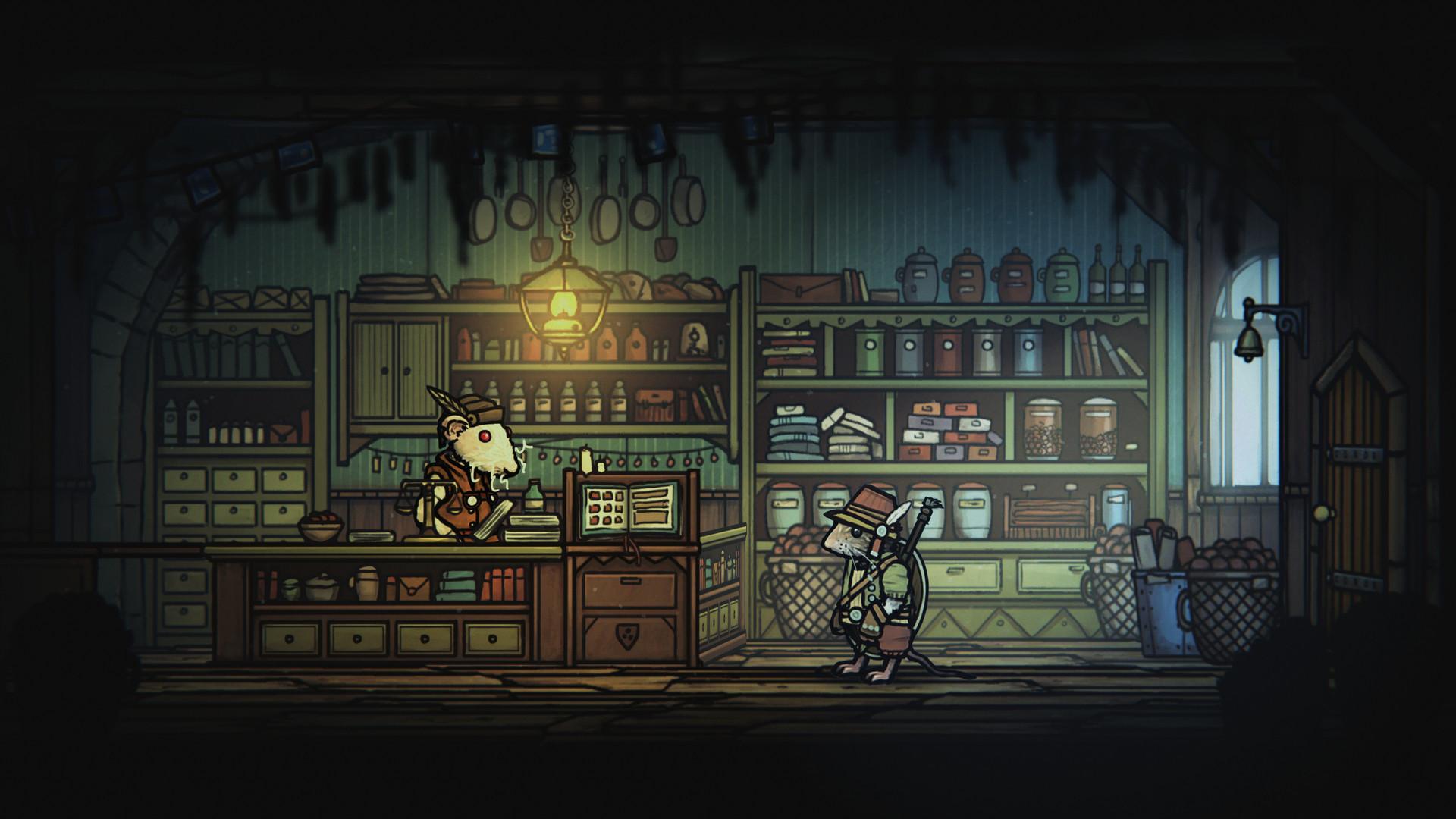 类魂游戏《钢铁之尾》今日正式发售 Steam特别好评插图11