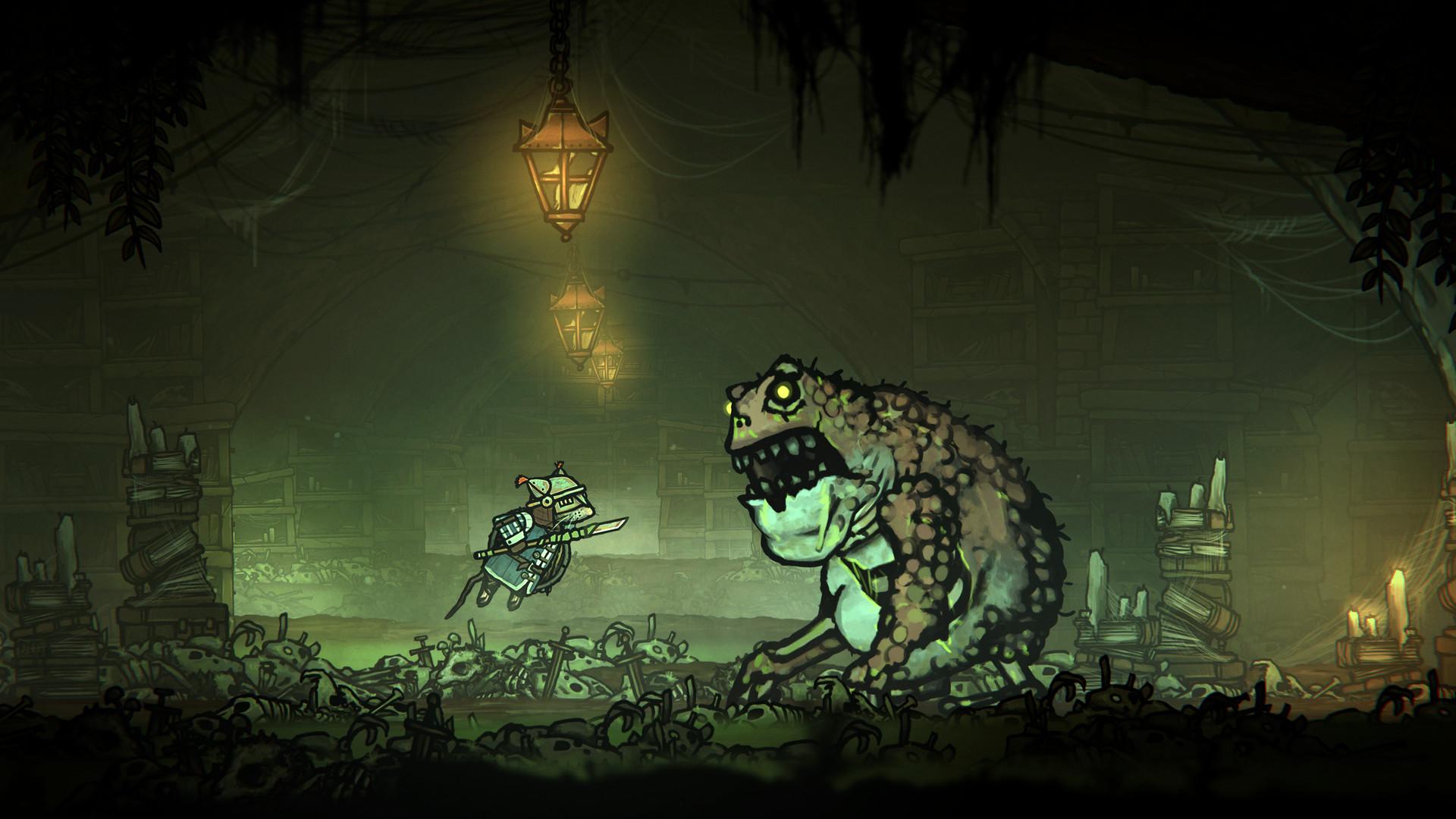 类魂游戏《钢铁之尾》今日正式发售 Steam特别好评插图9