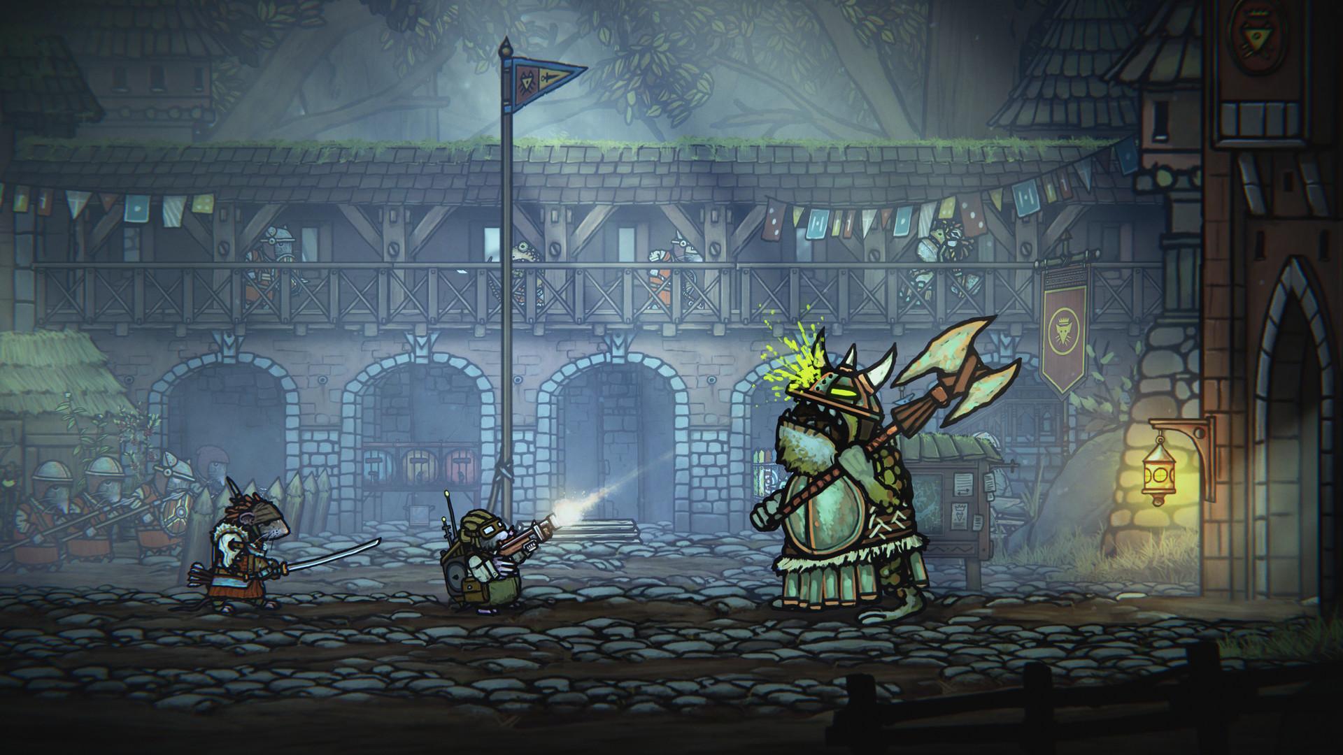 类魂游戏《钢铁之尾》今日正式发售 Steam特别好评插图3