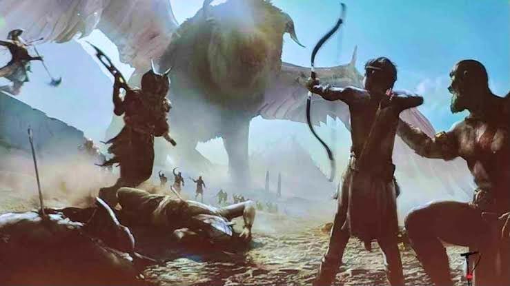 粉丝绘制《战神6》艺术图 奎爷霸气大战埃及神插图9