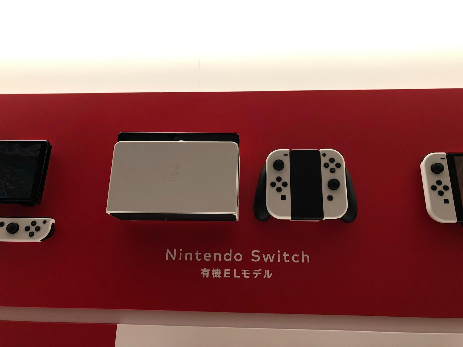 任天堂OLED Switch机型对外展示 首批真机照插图5