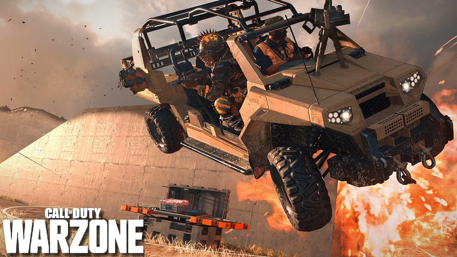 《使命召唤:战区》新Bug:自动驾驶的车辆插图1