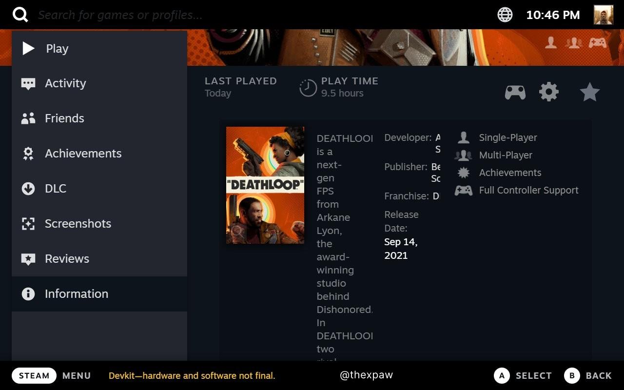 SteamOS 3泄露 Steam Deck完整UI截图曝光插图5
