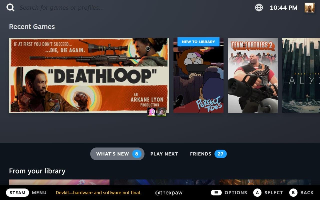 SteamOS 3泄露 Steam Deck完整UI截图曝光插图1