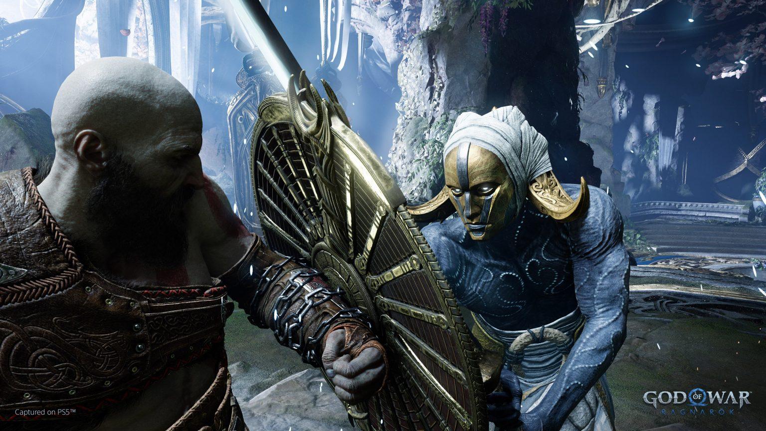 《战神5:诸神黄昏》将有不同的盾牌 每个有不同能力插图1