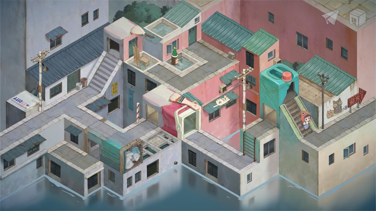 手绘风格游戏《成土市的我》上架Steam 2022年发售插图9