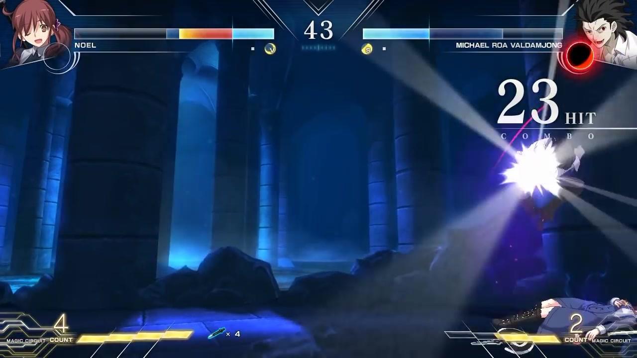 新《月姬格斗》实机对战演示 诺艾尔对战罗亚插图9