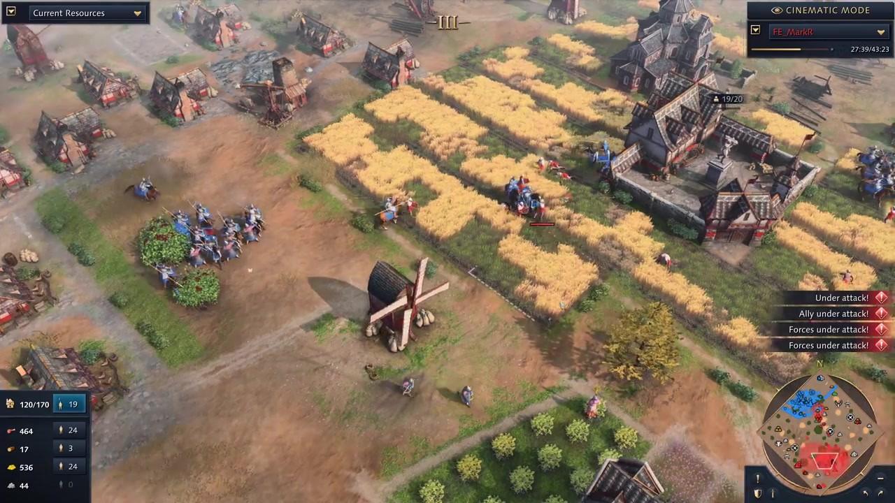 《帝国时代4》开发者多人模式1v1对战视频分享插图7