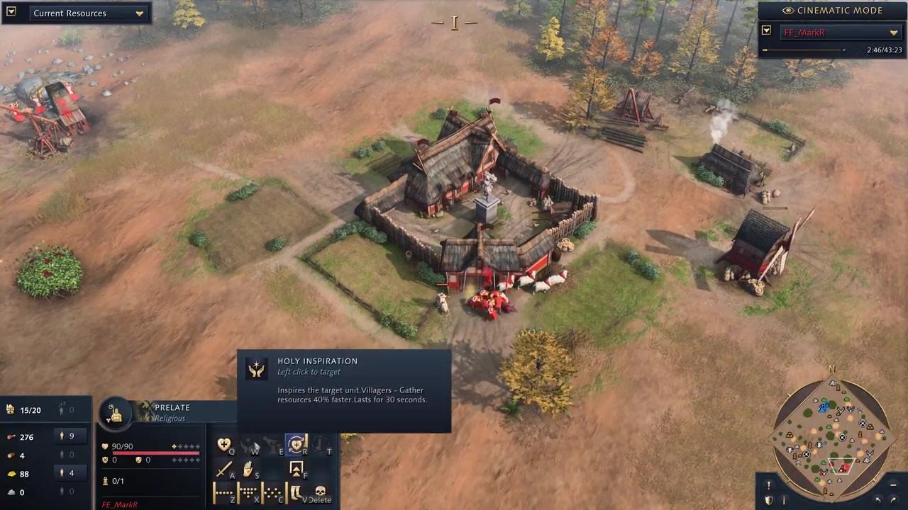 《帝国时代4》开发者多人模式1v1对战视频分享插图3