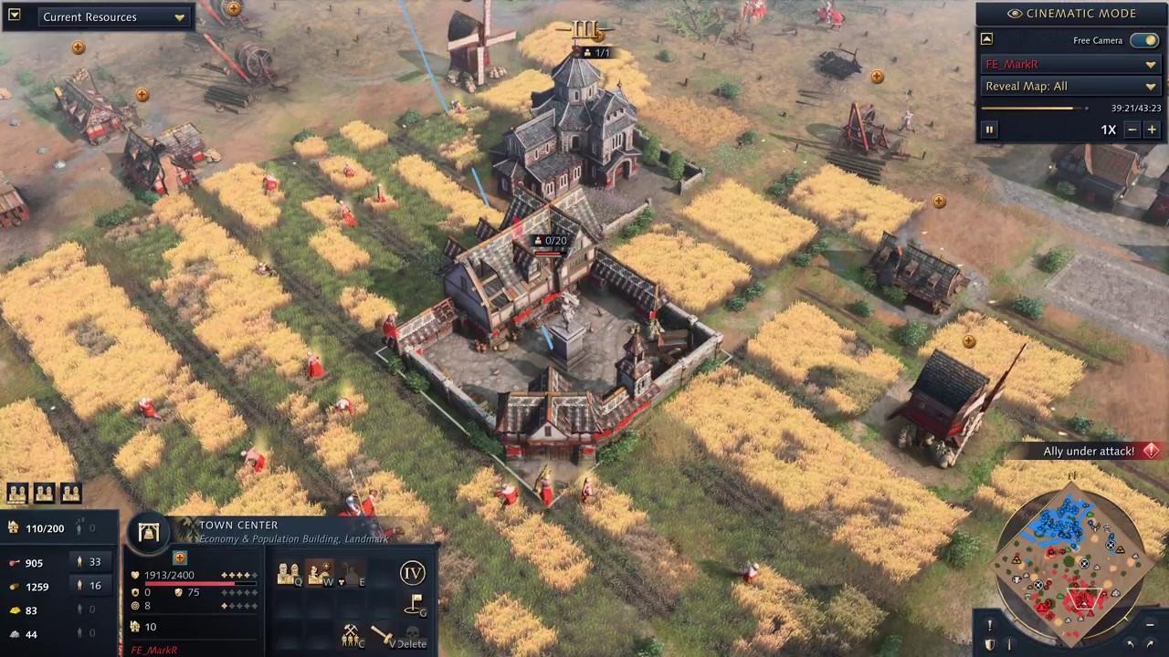 《帝国时代4》开发者多人模式1v1对战视频分享插图11