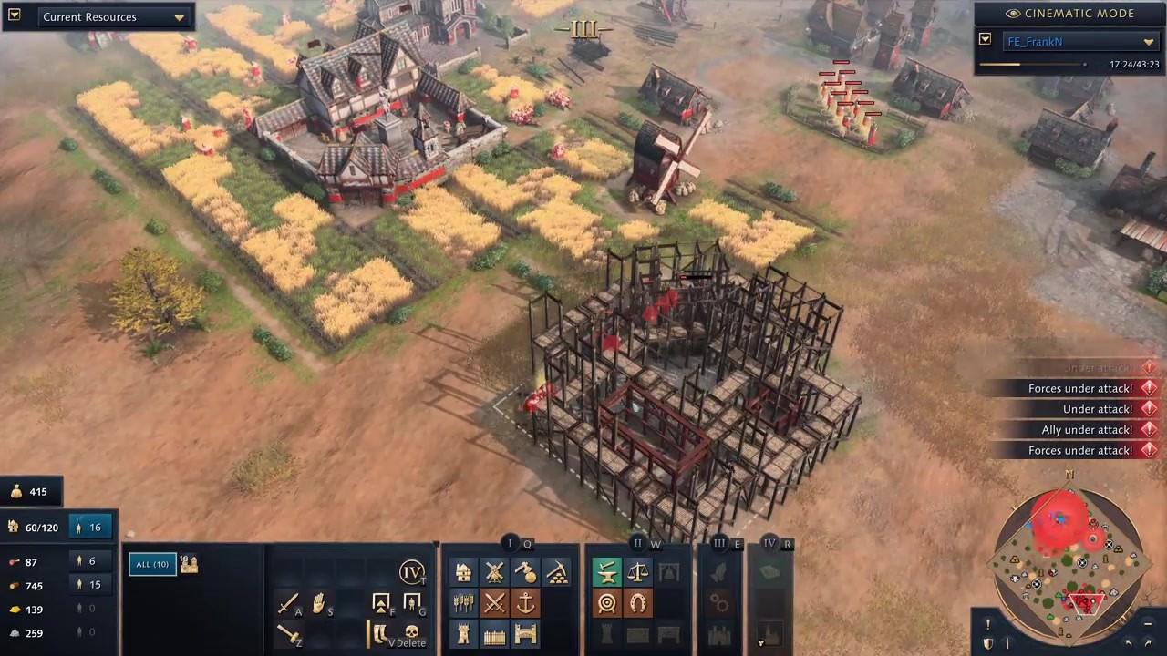 《帝国时代4》开发者多人模式1v1对战视频分享插图5