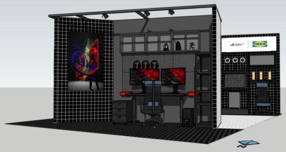 宜家宣布首次出展《东京电玩展》 多种游戏家具新品将公开插图3