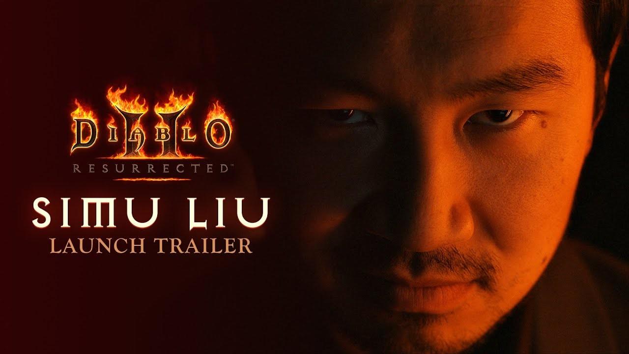 刘思慕出演《暗黑破坏神2:重制版》上市宣传片