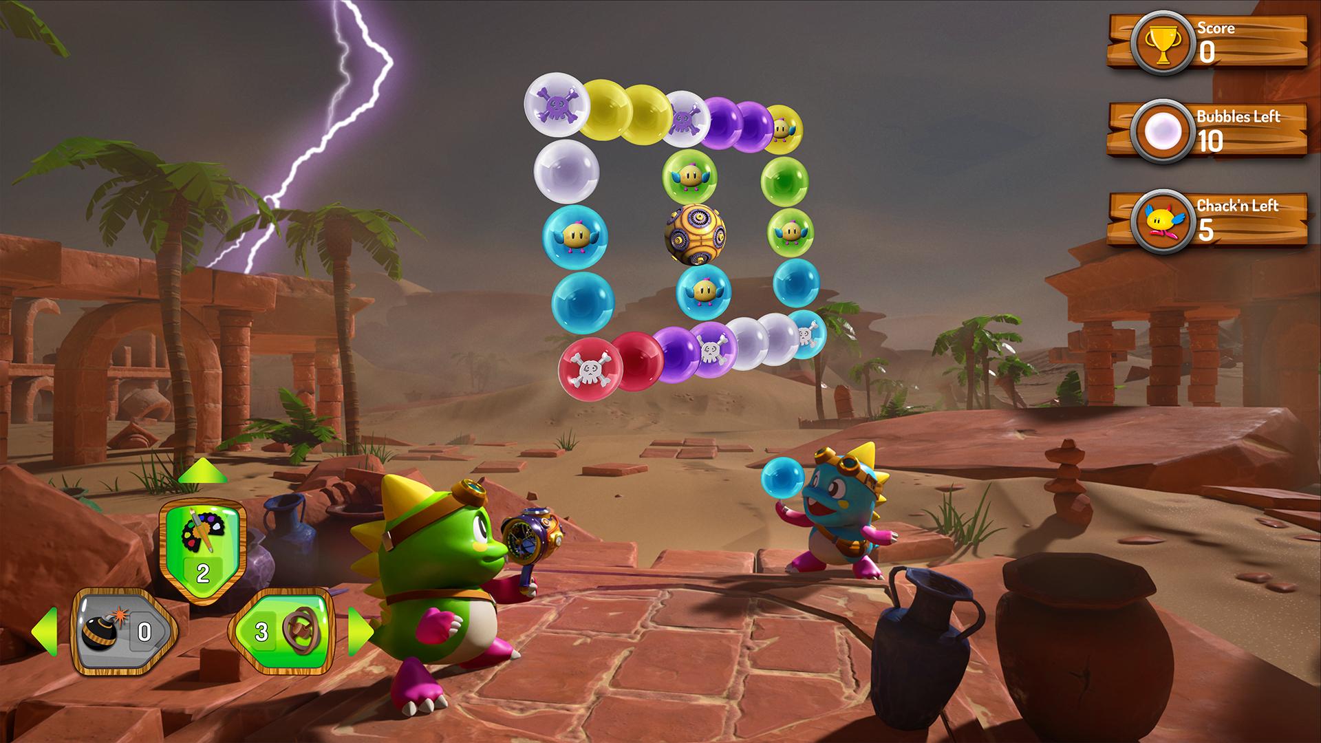 《泡泡龙3D:假日奥德赛》10月5日登陆PS主机和VR