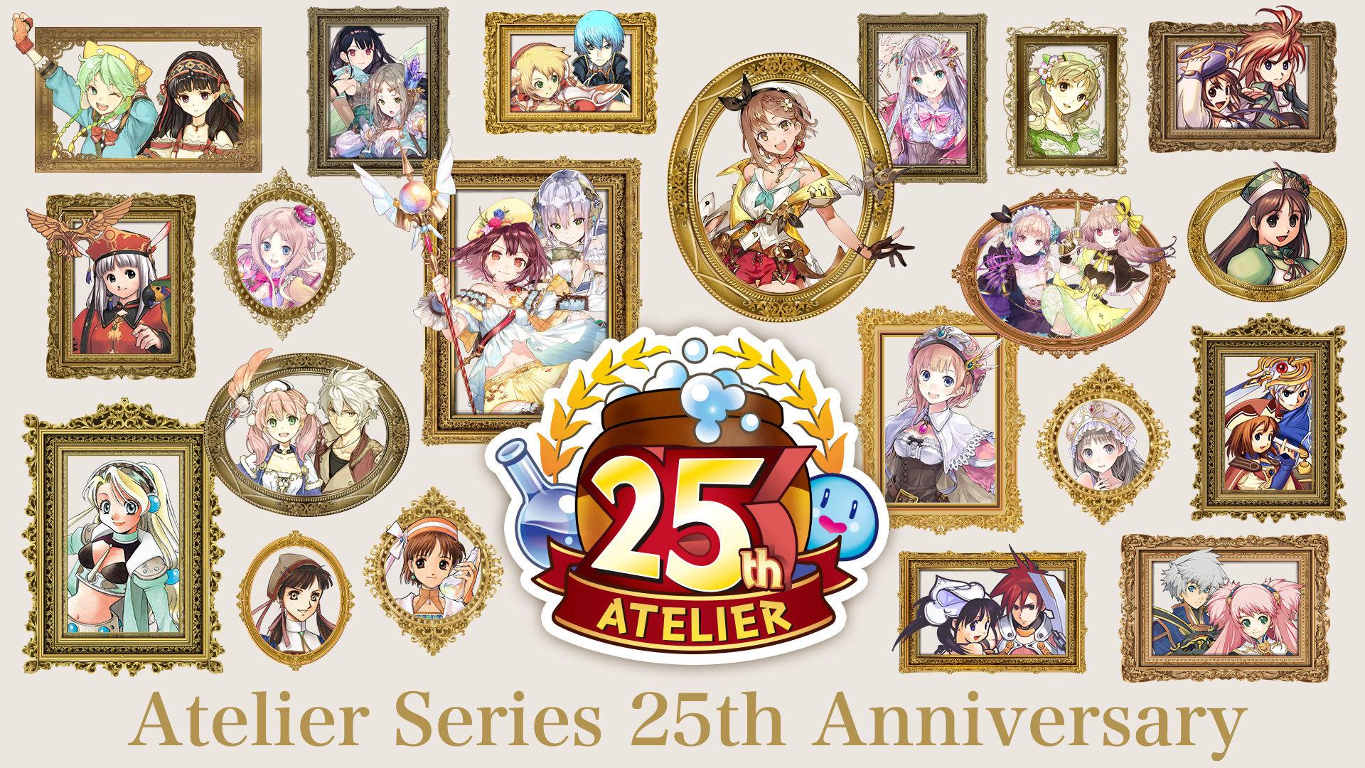 """《炼金工房》系列25周年纪念 将于10月2日举行""""光荣特库摩特别节目"""""""