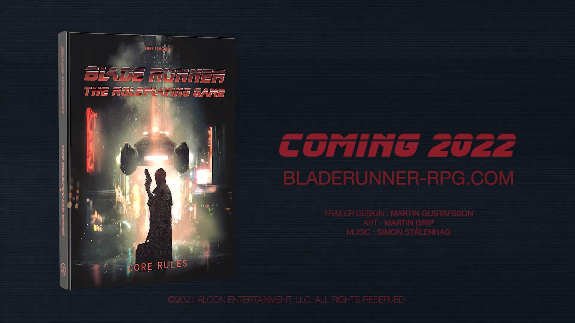 经典电影《银翼杀手》改编桌面RPG公布 后续还将发布一系列IP游戏