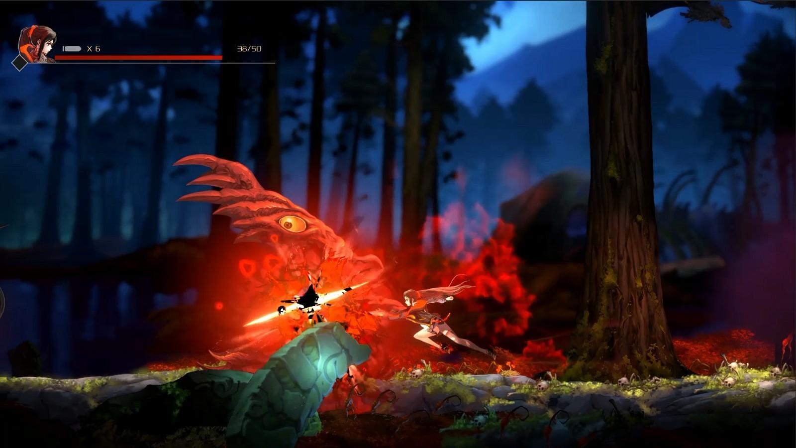 国产游戏《觉醒:异刃》新预告 无畏少女除魔之旅